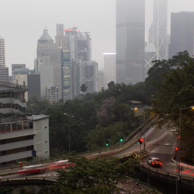 """""""Hong Kong Mid Levels"""" stock image"""