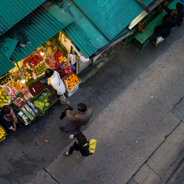 """""""Fruit Market"""" stock image"""