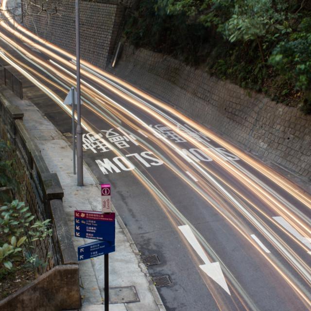 """""""Hong Kong Road 1"""" stock image"""