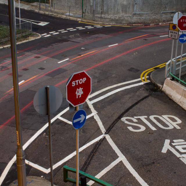 """""""Hong Kong Road 2"""" stock image"""