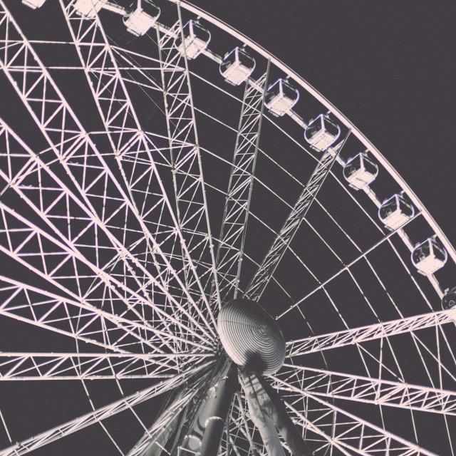 """""""Budapest Wheel"""" stock image"""