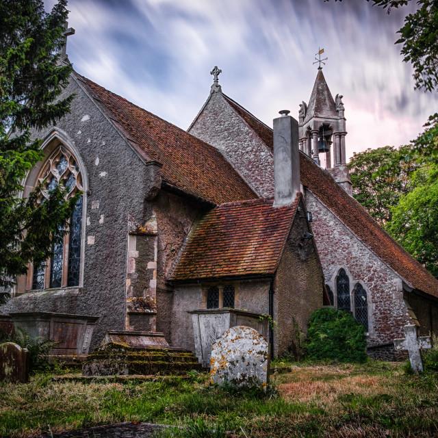 """""""Beaumont Church A Hidden Gem"""" stock image"""