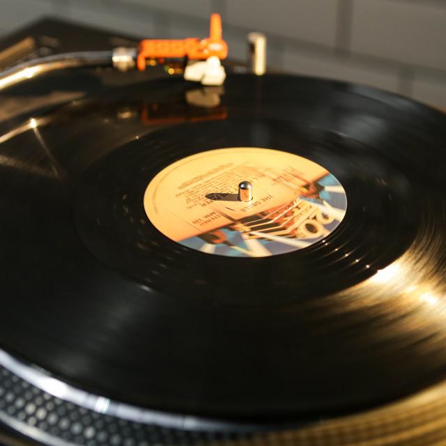 """""""Vinyl 2"""" stock image"""