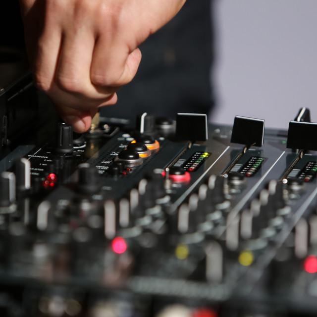 """""""Allen & Heath mixer"""" stock image"""