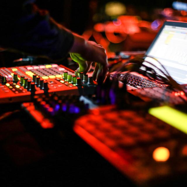 """Ableton Live"" stock image"