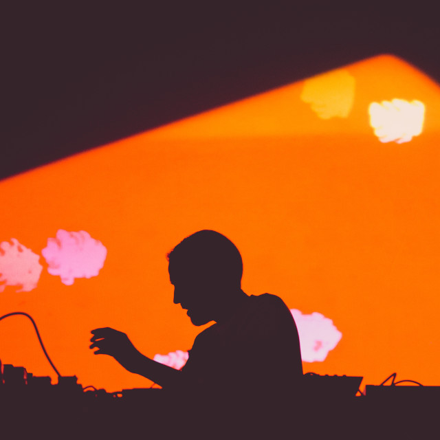 """""""Live Silhouette"""" stock image"""