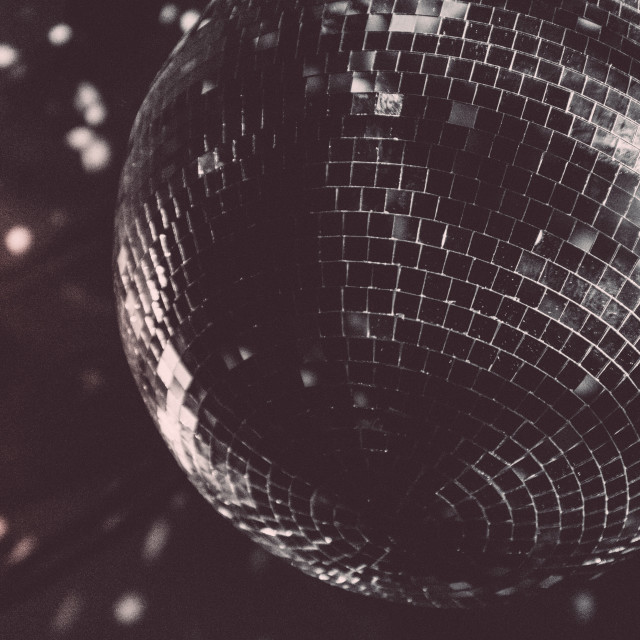 """Retro Disco Ball"" stock image"