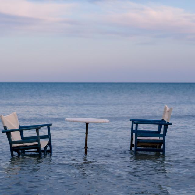 """Coastline sitting"" stock image"