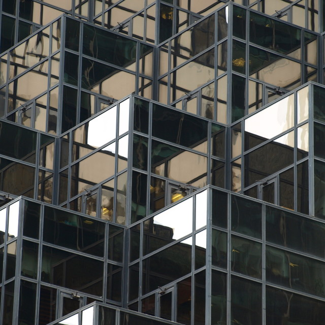 """""""Glass Fronted Office Building"""" stock image"""