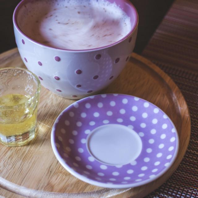 """Milk and honey in bar"" stock image"