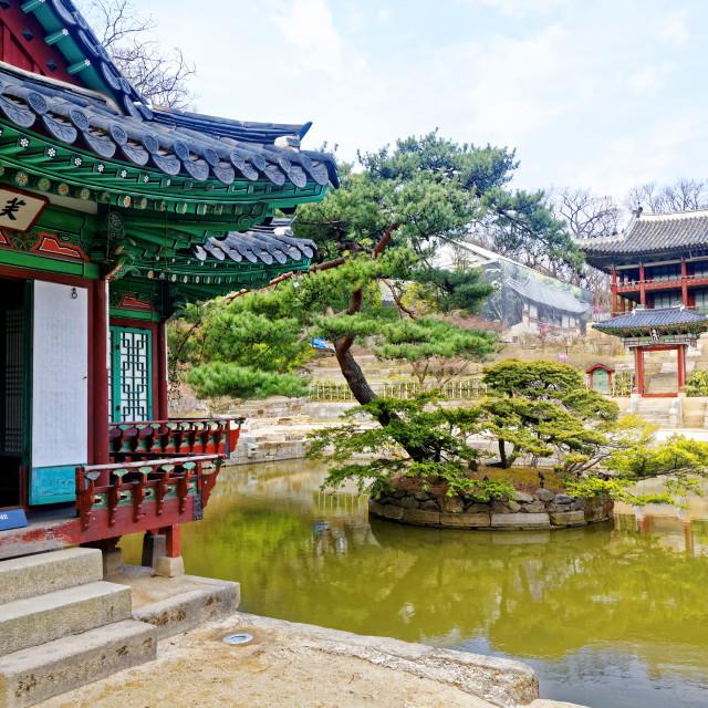 """Changdeokgung"" stock image"