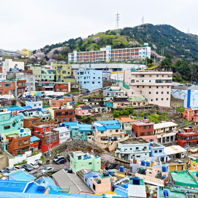 """Gamcheon Culture Village in South Korea."" stock image"