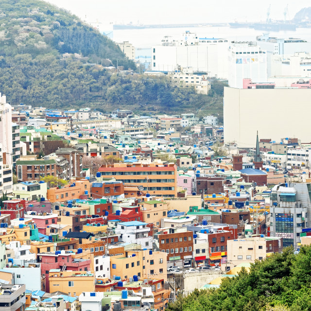 """Gamcheon Culture Village, Busan"" stock image"