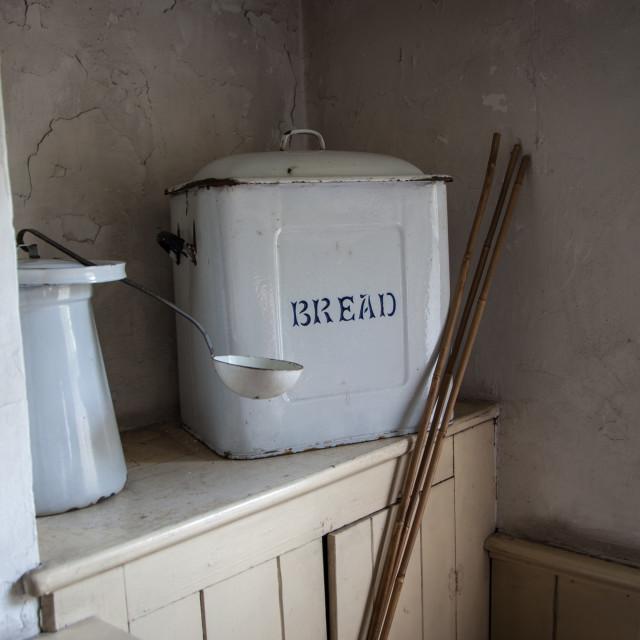 """Bread Bin"" stock image"