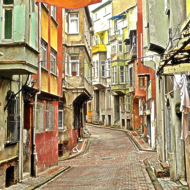 """""""Vicolo in periferia a Istanbul"""" stock image"""