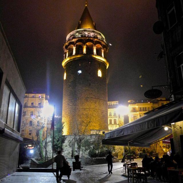 """""""Torre di Galata ad Istanbul"""" stock image"""