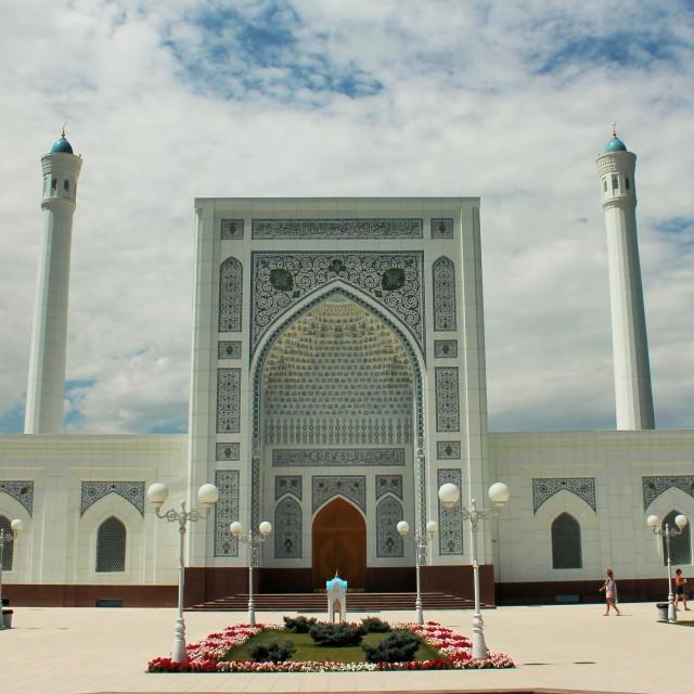 """New mosque in Tashkent"" stock image"