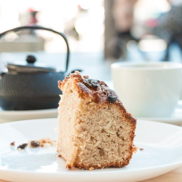 """Sweet Bread and Tea"" stock image"