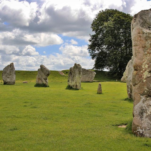 """""""Stones of Avebury"""" stock image"""