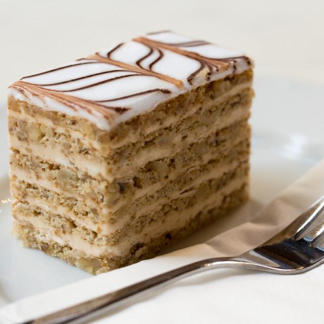 """Esterhazy Torte"" stock image"