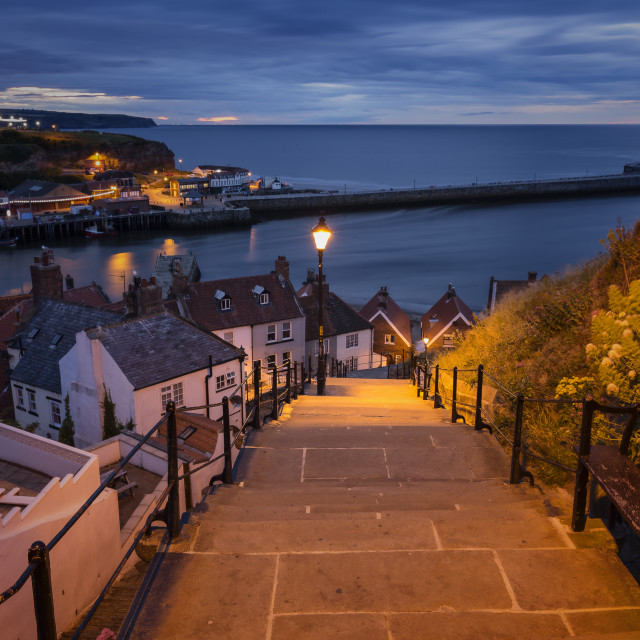 """199 Steps - Whitby"" stock image"