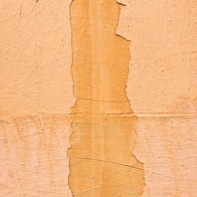 """Orange wall"" stock image"