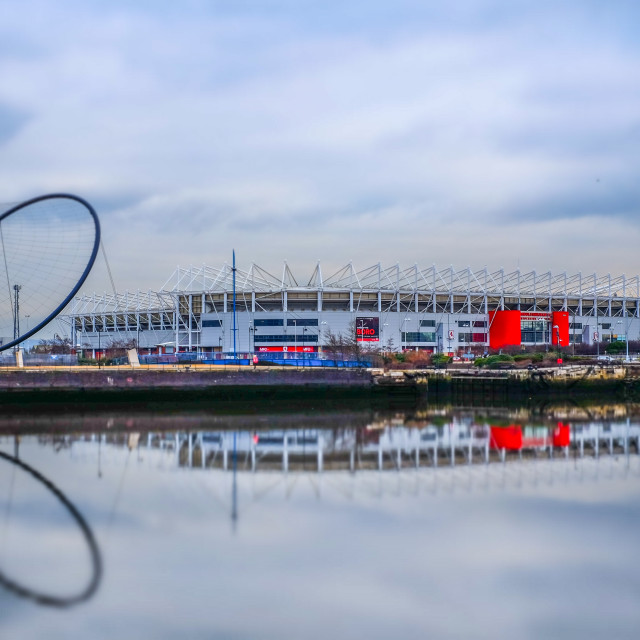 """Middlesbrough Riverside Stadium (1)"" stock image"