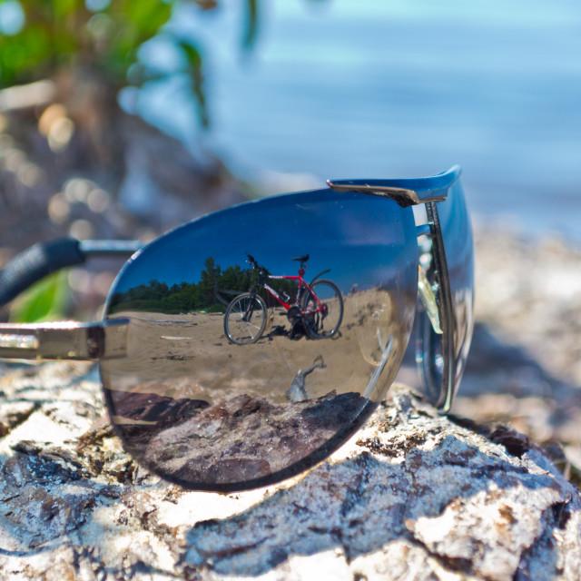 """Sunglasses"" stock image"