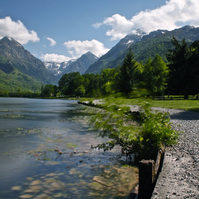 """""""Path to the Pyrenees"""" stock image"""