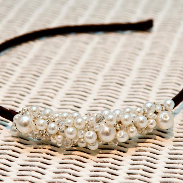 """""""Pearl Tiara"""" stock image"""