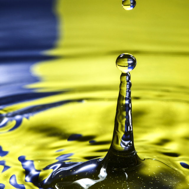 """Water drop"" stock image"