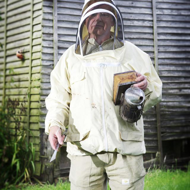 """Bee Keeper"" stock image"
