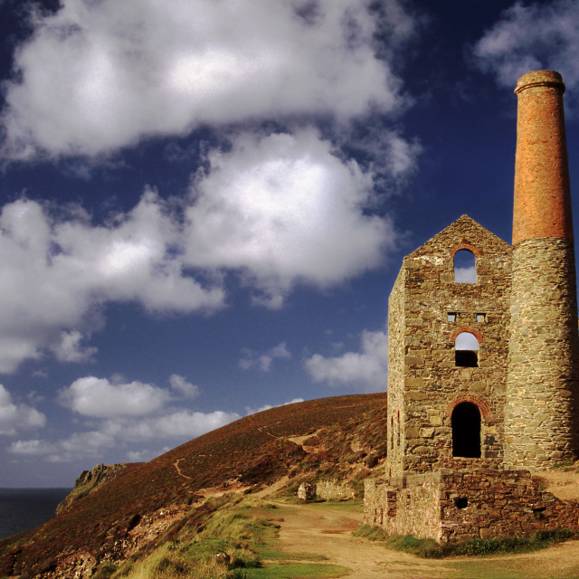 """Towanroath Engine House"" stock image"