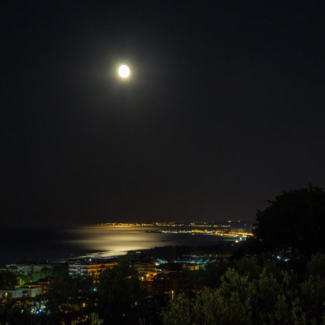 """""""Chiaro di luna"""" stock image"""