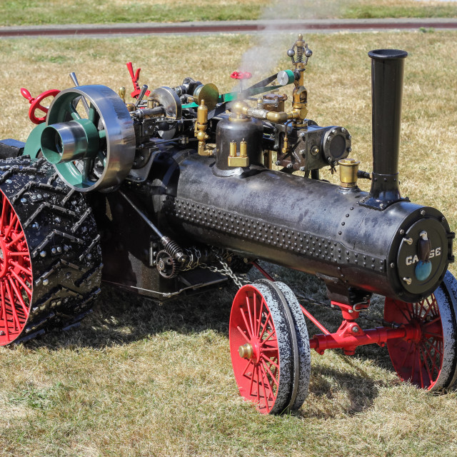 """""""model traction engine"""" stock image"""