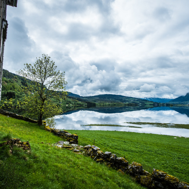 """Voss, Norway"" stock image"