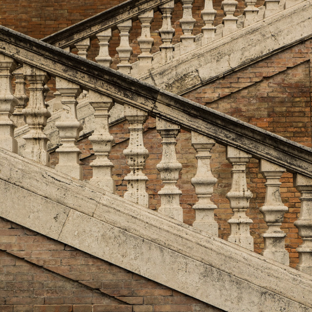 """Roman stairs"" stock image"