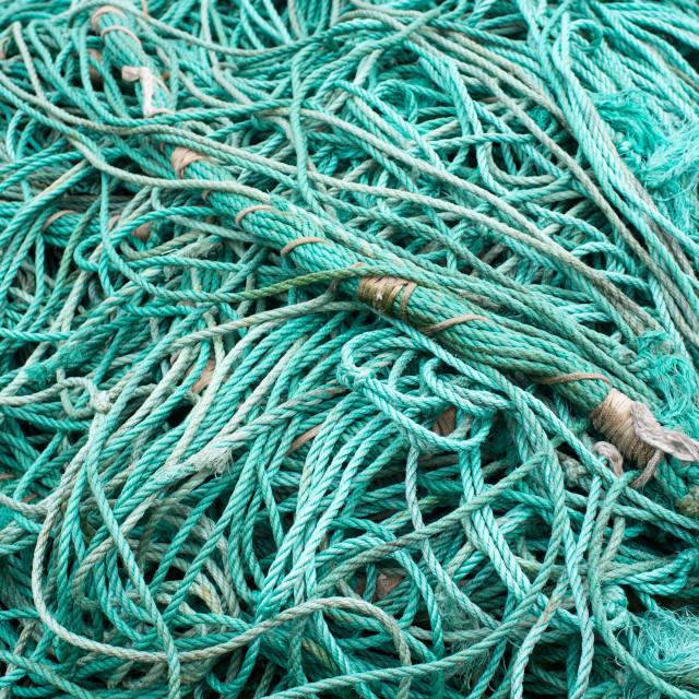 """Fisher net background"" stock image"