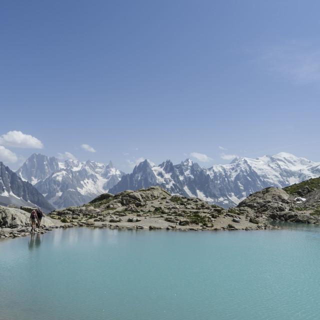 """Le Lac Blanc"" stock image"