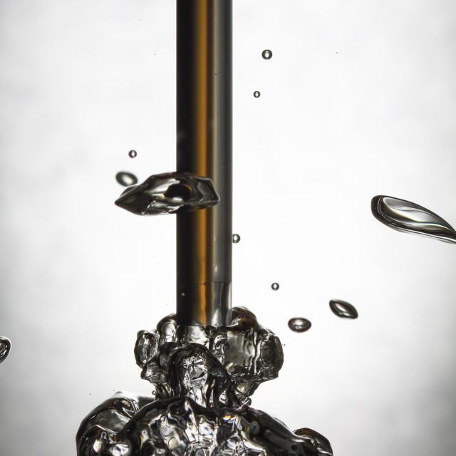 """""""Underwater bubble"""" stock image"""