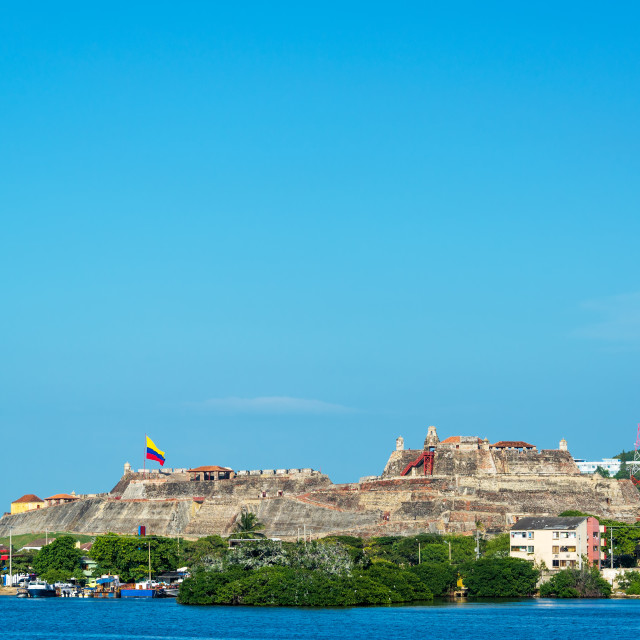 """San Felipe Fortress"" stock image"