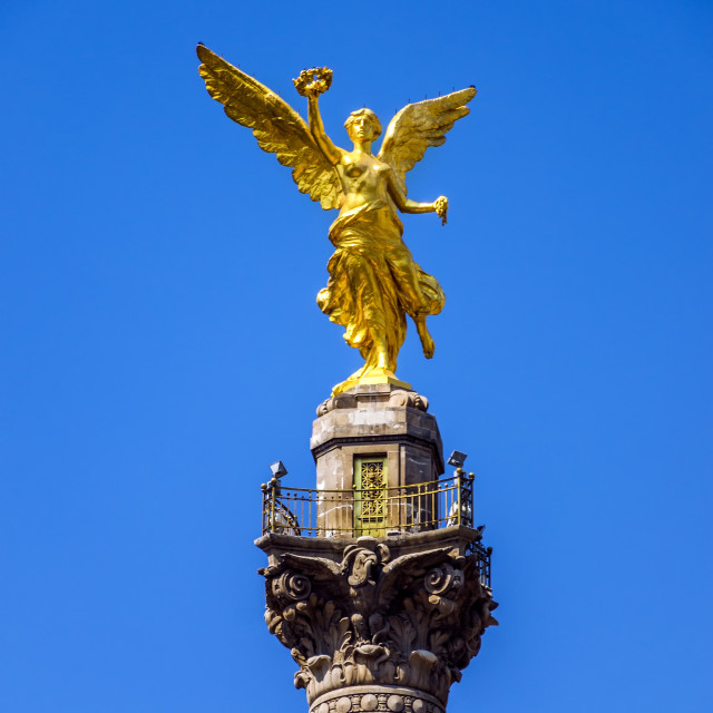 """""""Angel of Independence"""" stock image"""