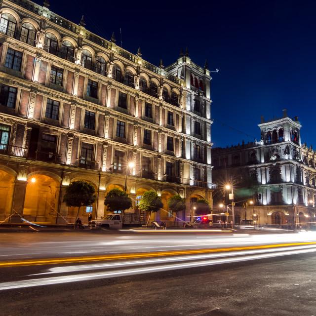 """Mexico City at Night"" stock image"