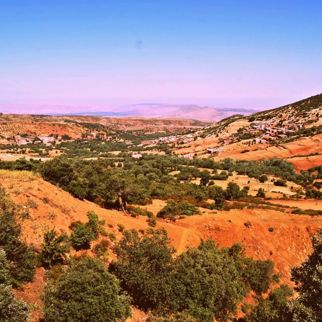 """Atlas Mountains Morocco"" stock image"