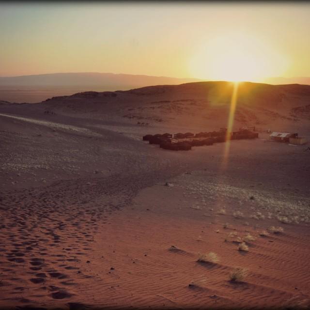 """Berber camp Morocco"" stock image"