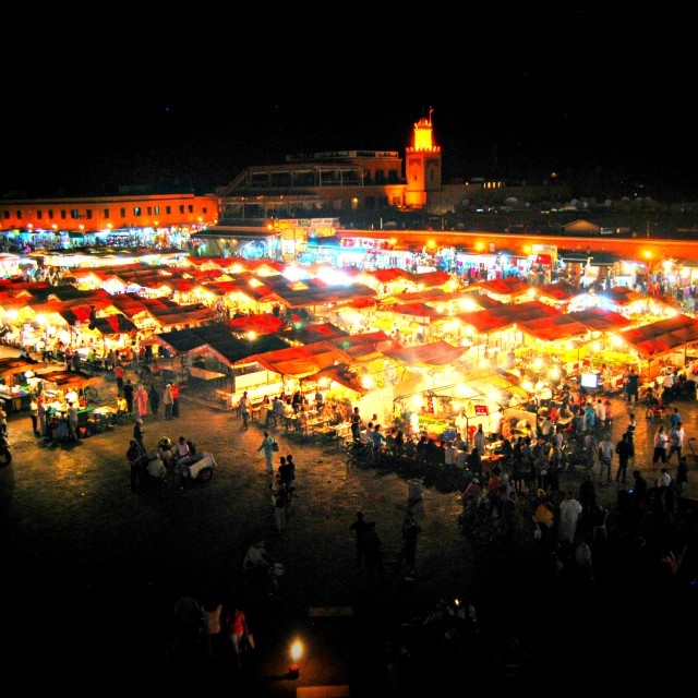 """Jemaa el Fna_Marrakech_Morocco"" stock image"