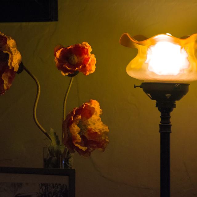 """Amber Light"" stock image"