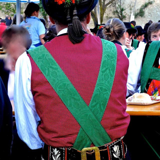 """Costume tradizionale Tirolese"" stock image"