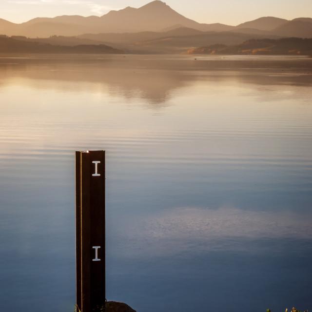 """Lake Liptovska Mara"" stock image"