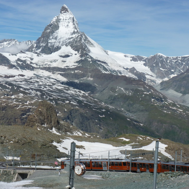 """Mountain Railway"" stock image"